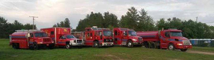 Buckland Fire & Rescue Partial Fleet
